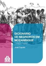 DICIONÁRIO DE NEGREIROS EM MOÇAMBIQUE 1750-1897