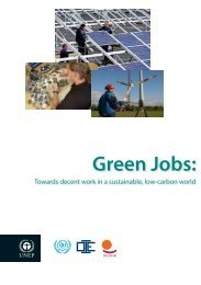 Green Jobs: - International Labour Organization