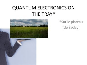 behavior of electrons