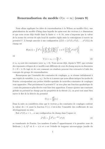 Cours 9 - Enseignement en Physique à l'ENS