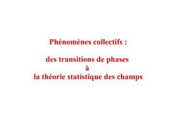 T - Enseignement en Physique à l'ENS