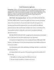 Needs Determination Application - Wisconsin Department of ...