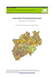 indikatoren für berufspendelanalysen - Verkehrswesen und ...