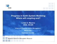 Progress in Earth System Modeling - Urban and Regional Carbon ...
