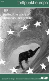 treffpunkt.europa - JEF
