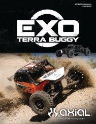 1//10 EXO Terra Buggy 4WD Axial Screw Shaft M4x2.5x12mm 6 AXA0286