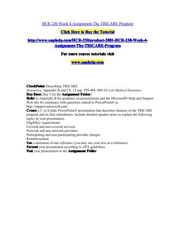 performance motivation plan and presentation hcs 514