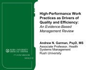High-Performance Work Practices