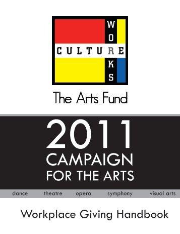 Handbook 2011.pmd - Culture Works