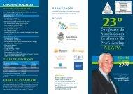 23º Congresso da Associação dos Ex-Alunos do Prof. Azulay