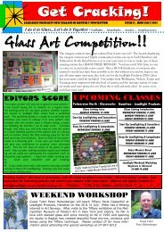 Get Cracking! Glass Art Competition!!