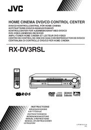 DVD Player Operations - JVC