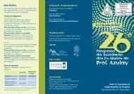 26º Congresso da Associação dos Ex-Alunos do Prof. Azulay ...