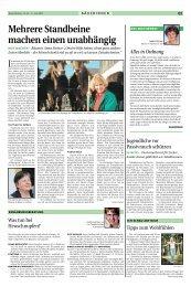 Mehrere Standbeine machen einen unabhängig - Tiroler Bauernbund