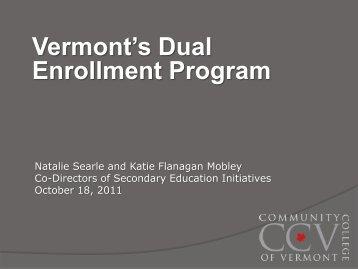 Enrollment Program