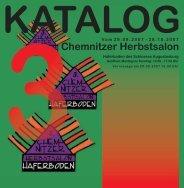 3. chemnitzer herbstsalon - Kunstverein Laterne e.V.