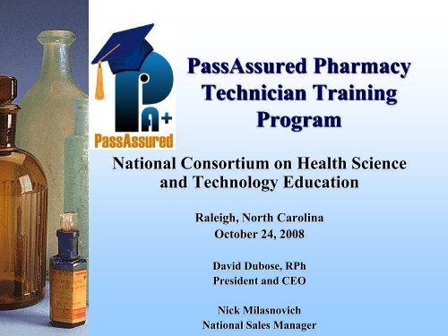 PassAssured Pharmacy Technician Training Program