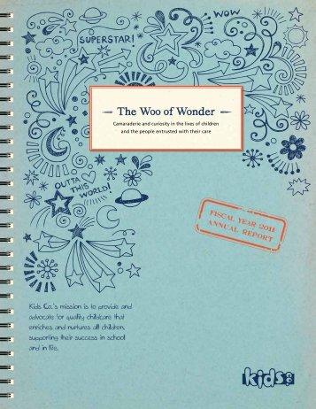 The Woo of Wonder