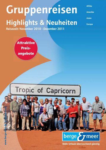 AIhr Reise-Highlight - Berge & Meer
