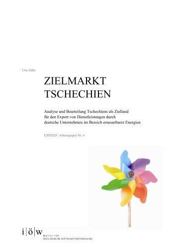 Ziellandstudie Tschechien - Institut für ökologische ...