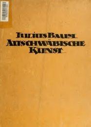 Altschwäbische Kunst