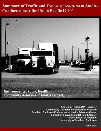 Summary of Traffic and Exposure Assessment ... - Hydra.usc.edu