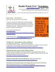 20130301-HWUSA- Newsletter.pdf - Health Watch USA