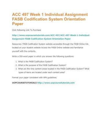 codification system