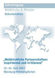 Jahrestagung Weltkirche & Mission - Katholisch.de