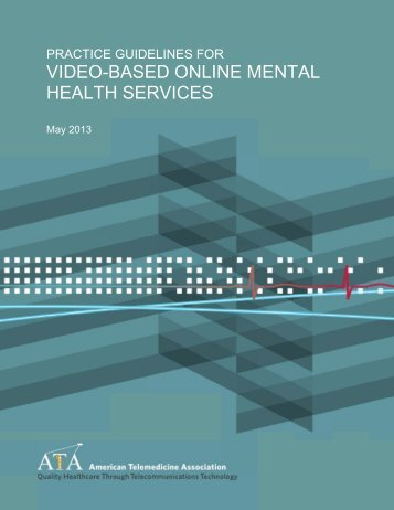 VIDEO-BASED ONLIN NE MENTAL HEALTH SERVICES