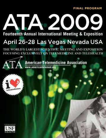ATA 2009 Annual Meeting Program - American Telemedicine ...