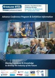 Advance Conference Program & Exhibition Information