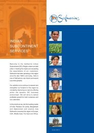 INDIAN SUBCONTINENT SERVICES