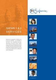 SAFARI 1 & 3 SERVICES