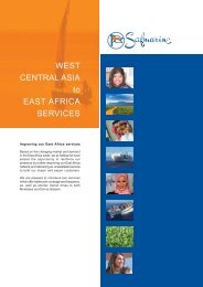 WEST CENTRAL ASIA to EAST AFRICA SERVICES