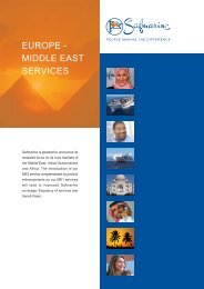 EUROPE - MIDDLE EAST SERVICES - Safmarine