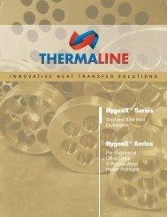 Brochure: Shell & Tube Heat Exchangers - Thermaline Inc.