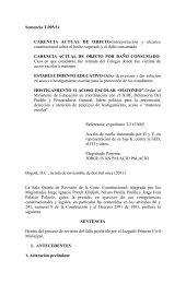 Sentencia T-905/11 CARENCIA ACTUAL DE OBJETO ... - Red PaPaz