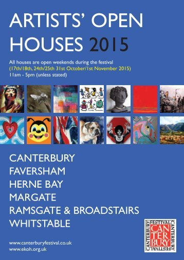 ARTISTS' OPEN HOUSES 2015