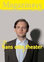 Marnie fliegt - Hans Otto Theater
