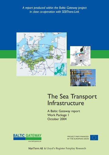 The Sea Transport Infrastructure