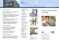 Arbeit und Gesundheit nach Maß - Klinikum Region Hannover GmbH