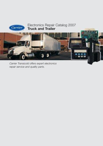 Electronics Repair Catalog 2007 Truck and Trailer