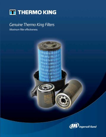 Genuine Thermo King Oil Filters