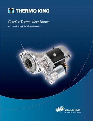 Genuine Thermo King Starters
