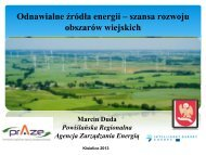Odnawialne źródła energii – szansa rozwoju obszarów wiejskich