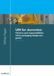 UN for dummies: W hite Paper - CurTec
