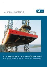 GL – Mapping the Future in Offshore Wind - GL Group