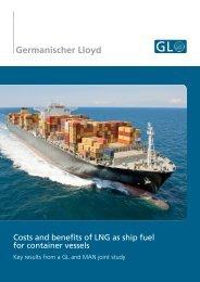 GL/MAN study on LNG as ship fuel