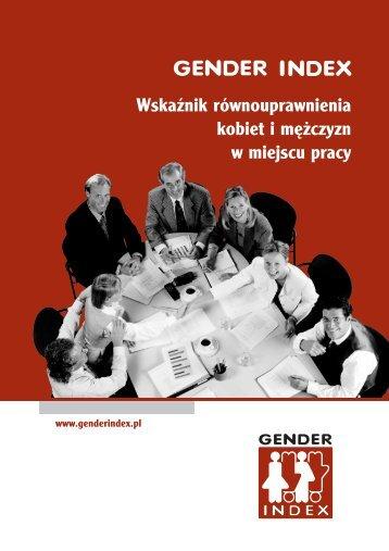 Wskaźnik równouprawnienia kobiet i mężczyzn w miejscu pracy